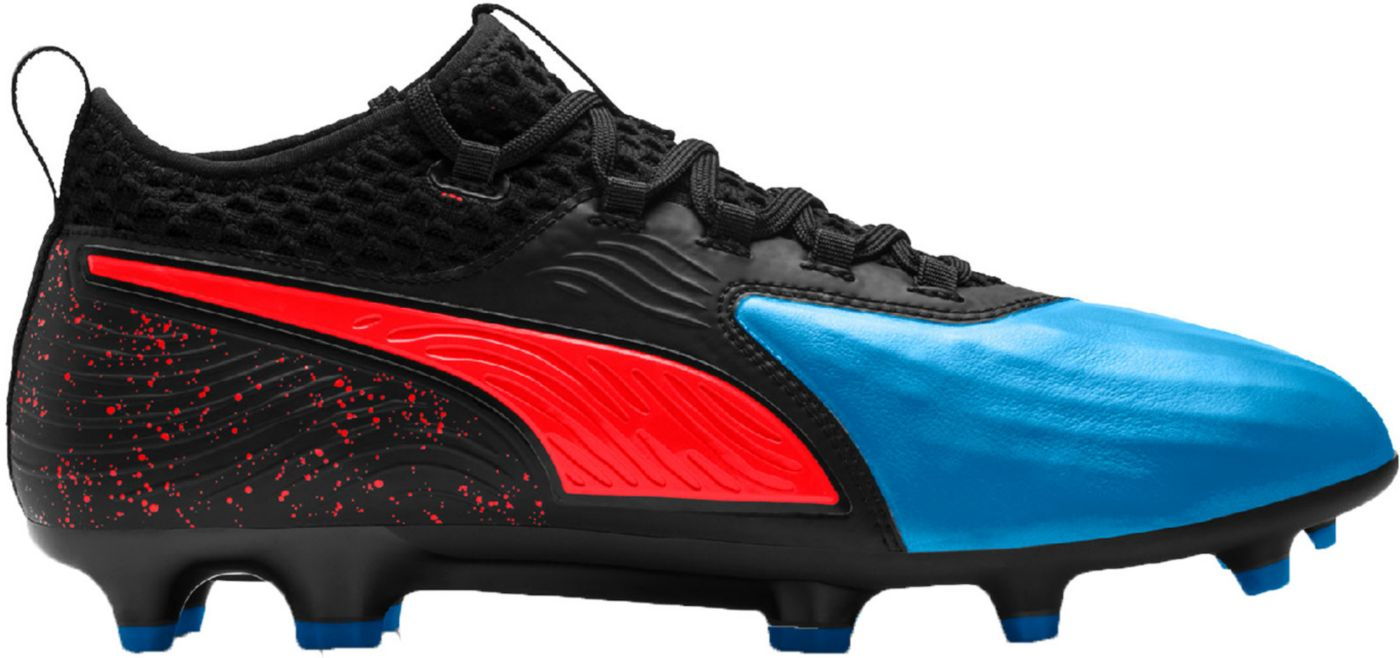 PUMA Men's One 19.2 FG/AG Soccer Cleats