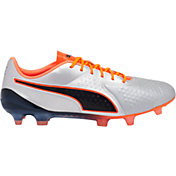 PUMA Men's One 1 Leather CC FG/AG Soccer Cleats