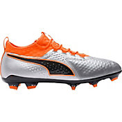 PUMA Men's One 2 Leather FG/AG Soccer Cleats