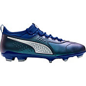 PUMA Men's One 3 Leather FG/AG Soccer Cleats