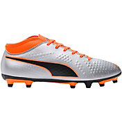 PUMA Men's One 4 Synthetic FG Soccer Cleats