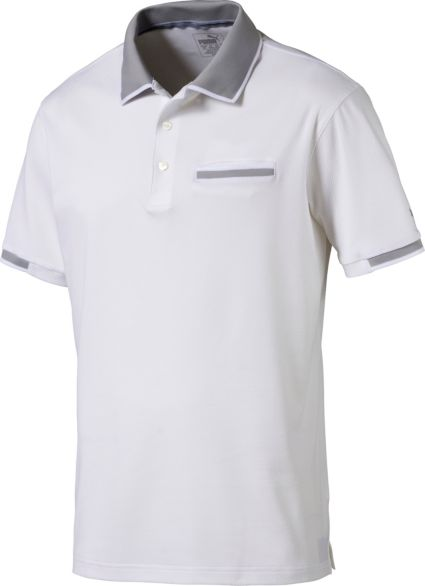 PUMA Men's PWRCOOL ADAPT Golf Polo