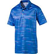 PUMA Men's PWRCOOL Road Map Golf Polo