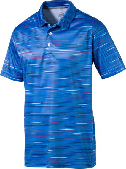 PUMA Men's PWRCOOL Road Map Golf Polo