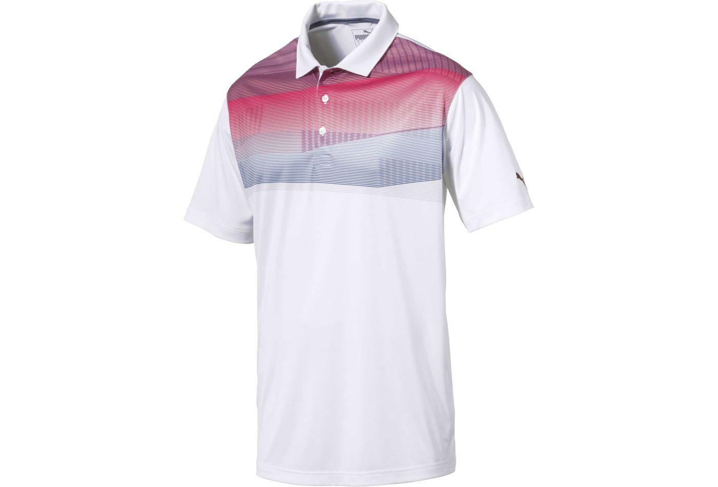 PUMA Men's PWRCOOL Refract Golf Polo