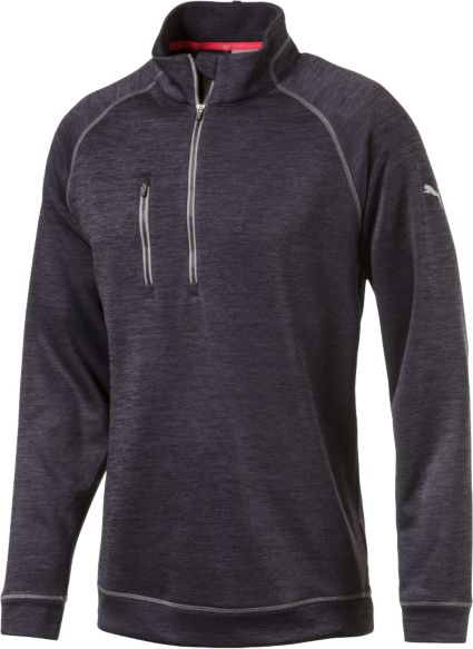 PUMA Men's PWRWARM Heather Golf ¼ Zip