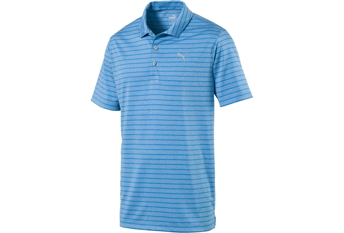 PUMA Men's Rotation Stripe Golf Polo