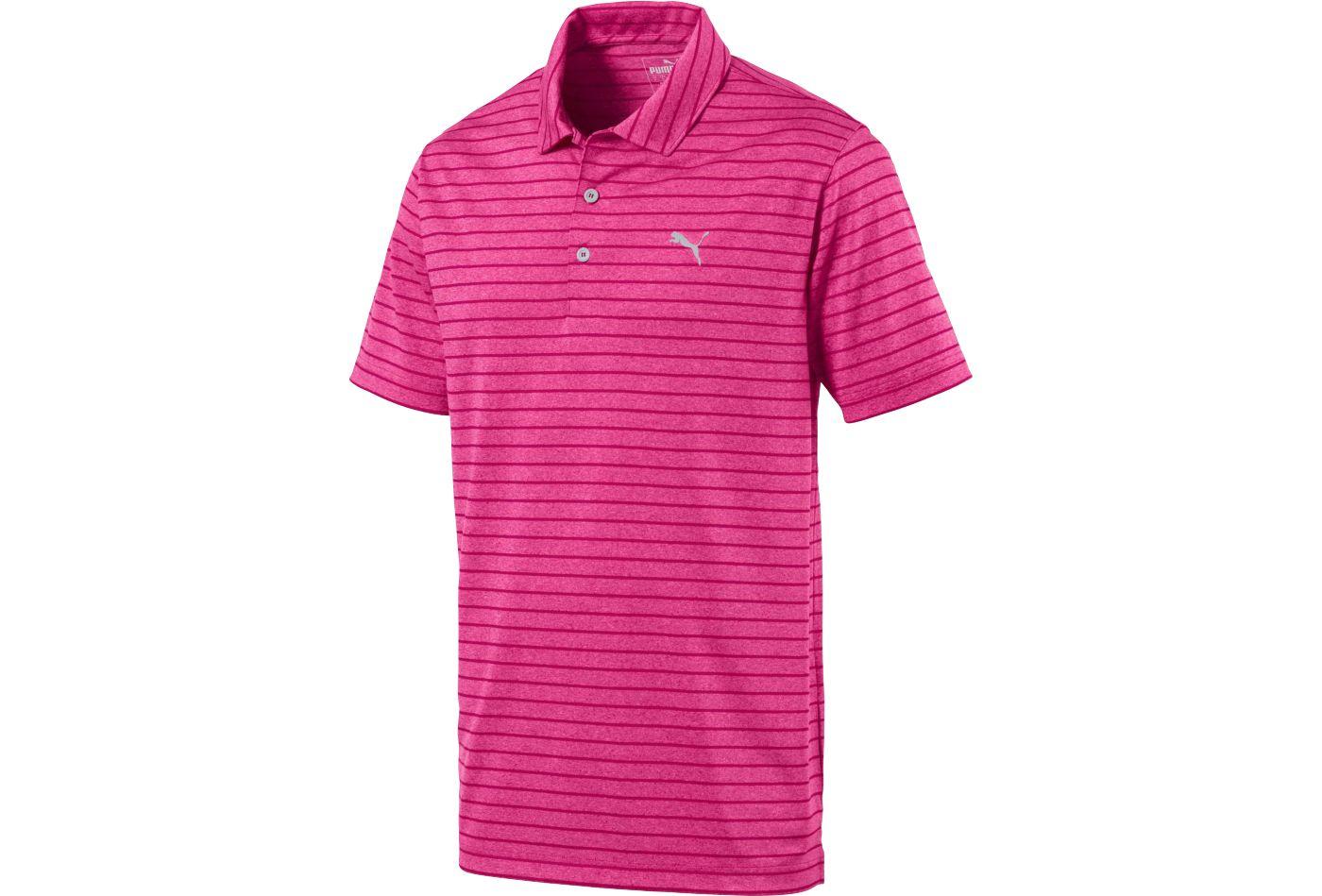 PUMA Men's Rotation Stripe Golf Polo