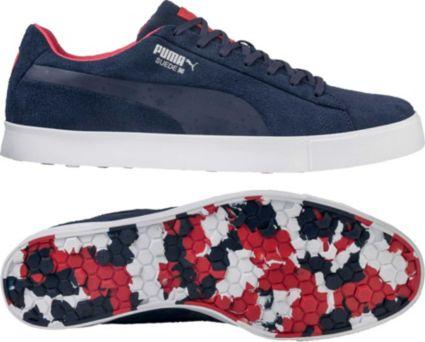 PUMA Men's Suede G Team USA Shoes