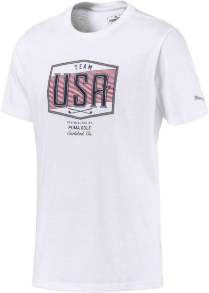 PUMA Men's Team USA Golf T-Shirt