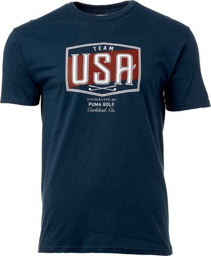 PUMA Men's Team USA Golf T-Shirt