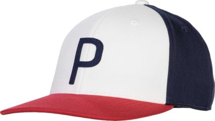 PUMA Men's Throwback P 110 Snapback Hat