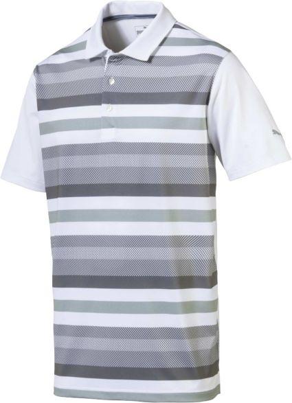 PUMA Men's Turf Stripe Golf Polo