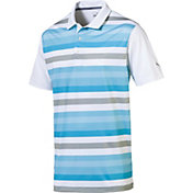 PUMA Men's Turf Stripe Golf Polo