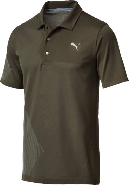 PUMA Men's Evoknit Dassler Golf Polo