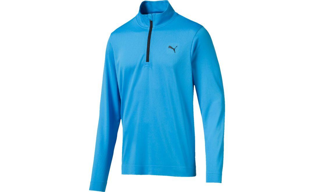 9b4ff53e6 PUMA Men's Evoknit Essential Golf ¼ Zip
