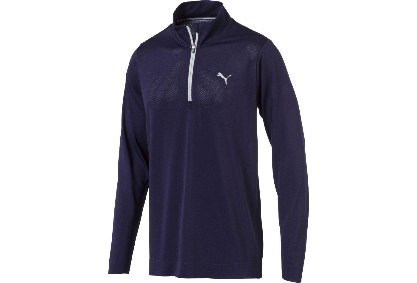 PUMA Men's Evoknit Essential Golf ¼ Zip