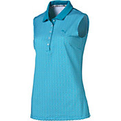 PUMA Women's Dawn Sleeveless Golf Polo