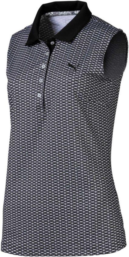 PUMA Women's Dawn Sleeveless Golf Polo