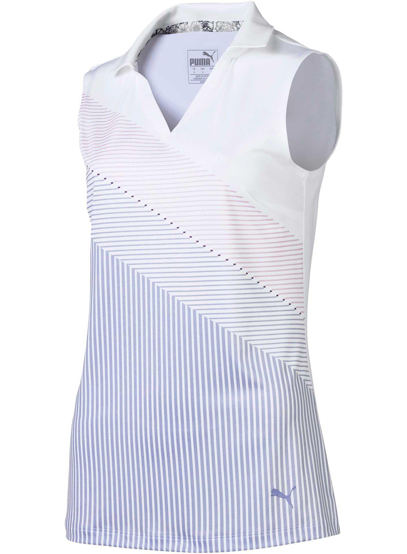 PUMA Women's Prep Sleeveless Golf Polo