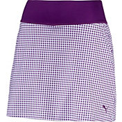 PUMA Women's PWRSHAPE Dassler Knit Golf Skirt