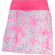 PUMA Women's PWRSHAPE Floral Knit Golf Skirt