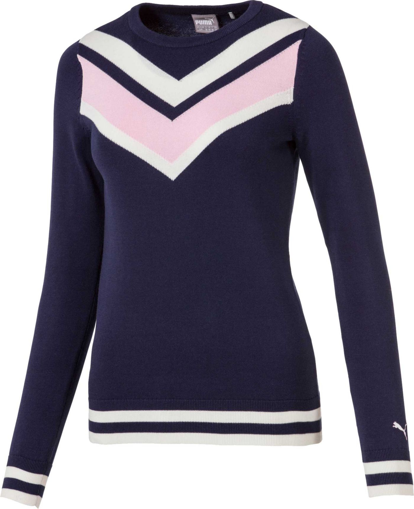 PUMA Women's Chevron Golf Sweater