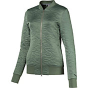 PUMA Women's Camo Bomber Golf Jacket