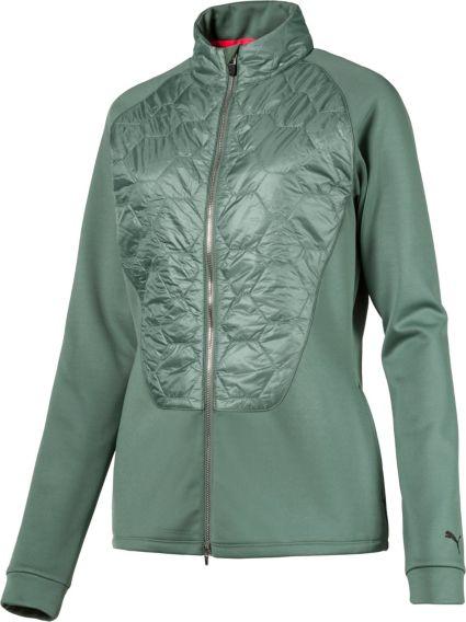 PUMA Women's Dassler PWRWARM Golf Jacket