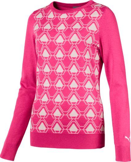 PUMA Women's Dassler Golf Sweater