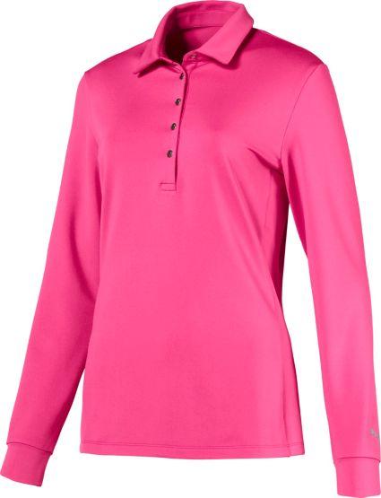 PUMA Women's Long Sleeve Golf Polo