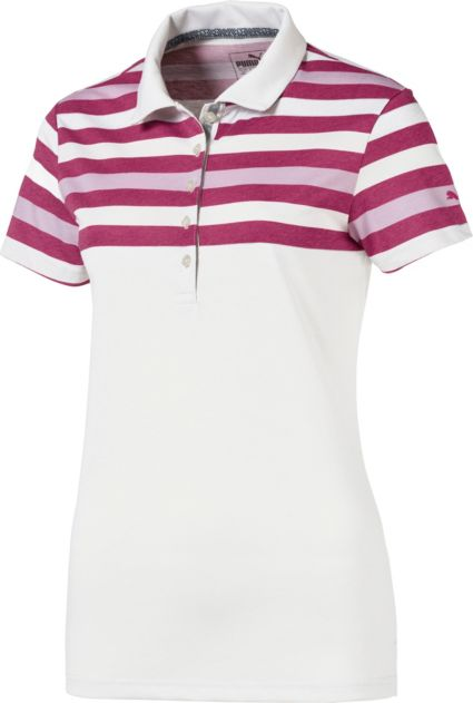 PUMA Women's Road Map Golf Polo