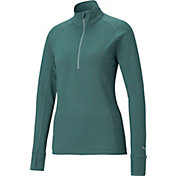 PUMA Women's Rotation ¼-Zip Golf Pullover