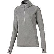 PUMA Women's Rotation ¼-Zip Golf Pullover
