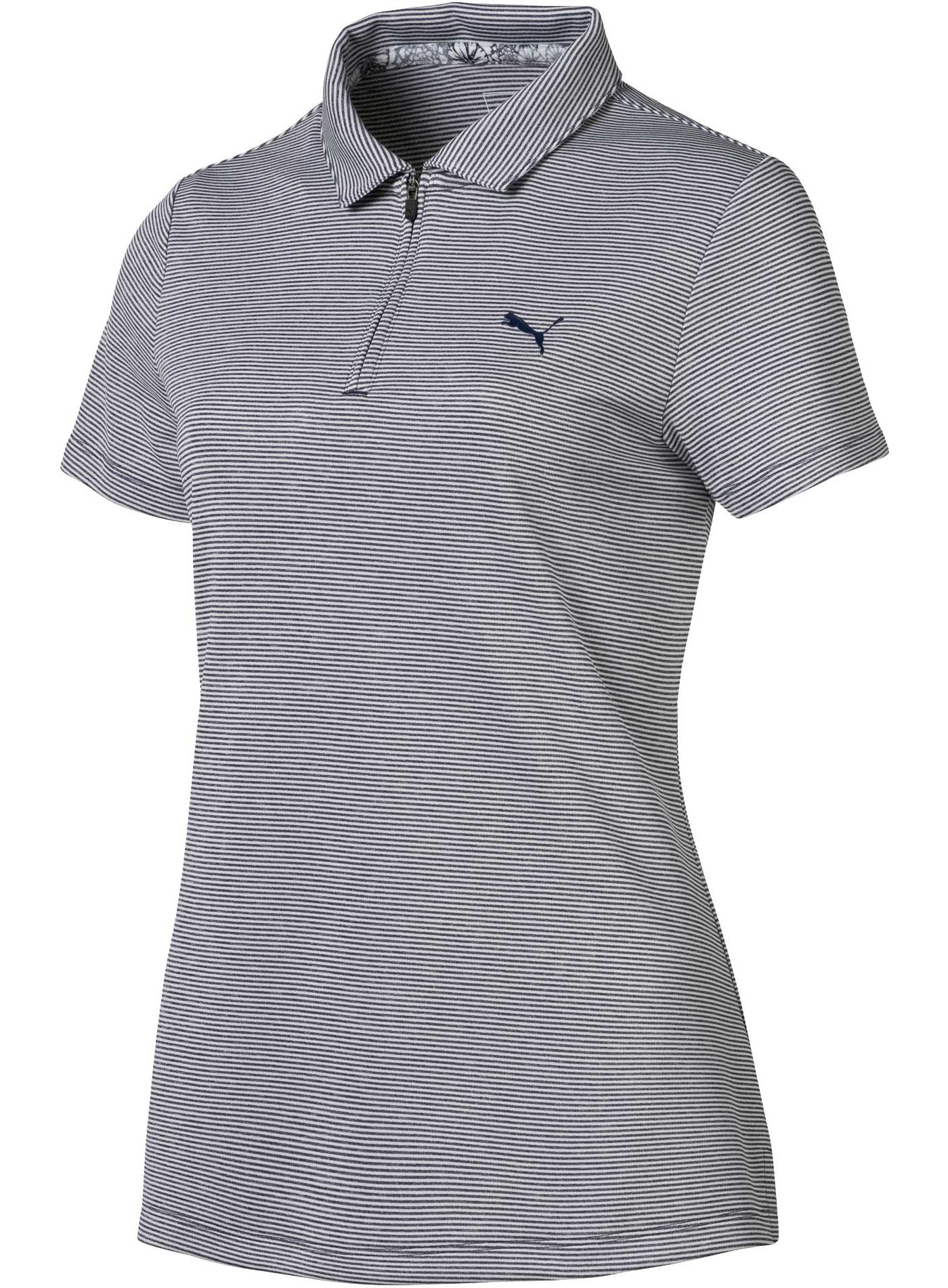 PUMA Women's Soft Stripe Golf Polo