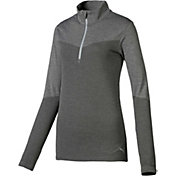 PUMA Women's Evoknit ¼-Zip Golf Pullover
