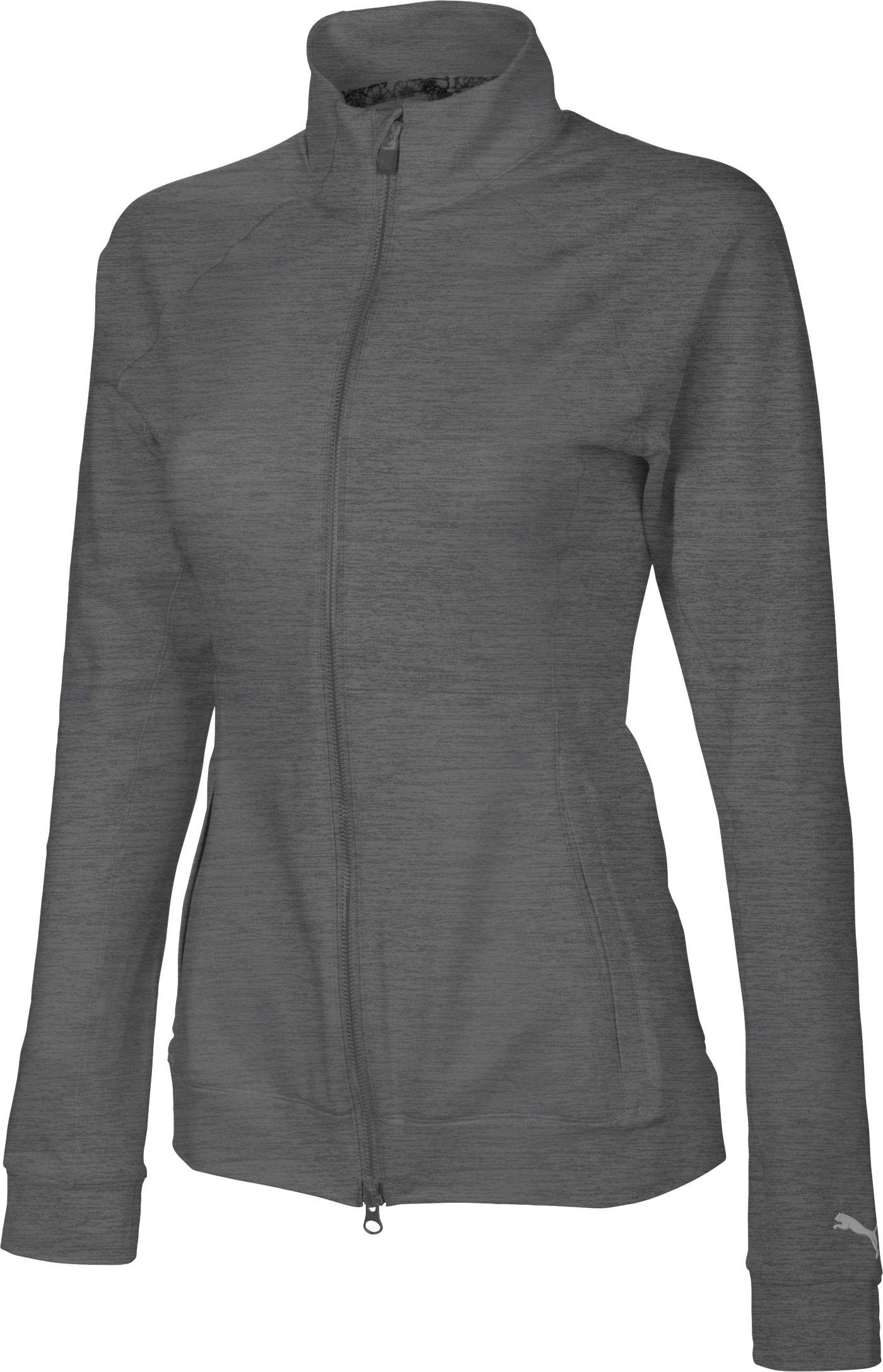 PUMA Women's Vented Full-Zip Golf Jacket