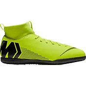 Nike Kids' MercurialX Superfly 6 Club Indoor Soccer Shoes