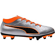 PUMA Kids' One 4 Synthetic FG Soccer Cleats