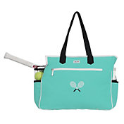 Ame and Lulu Kensington Crossed Racquet Court Bag