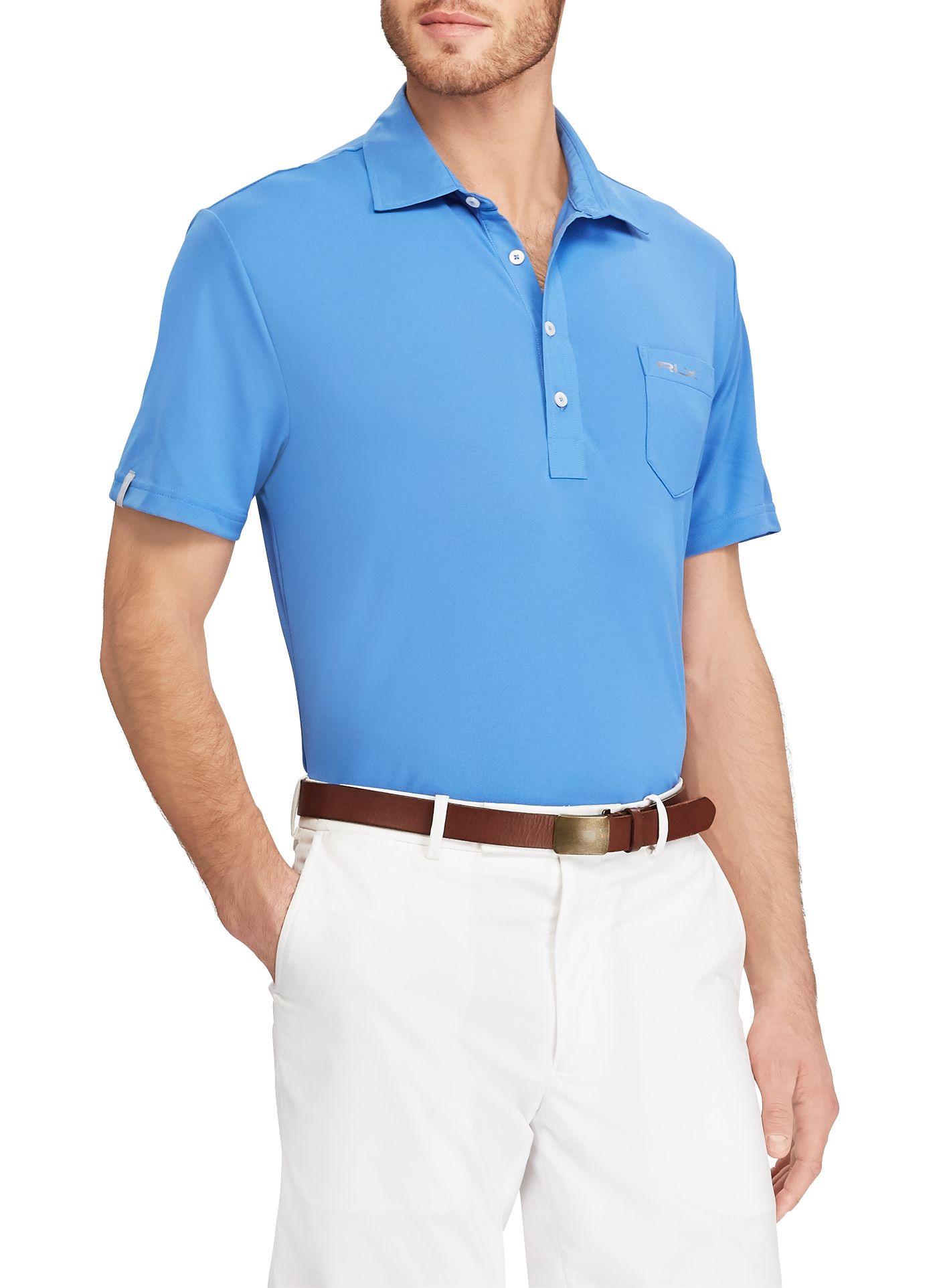 RLX Golf Men's Tech Pique Golf Polo