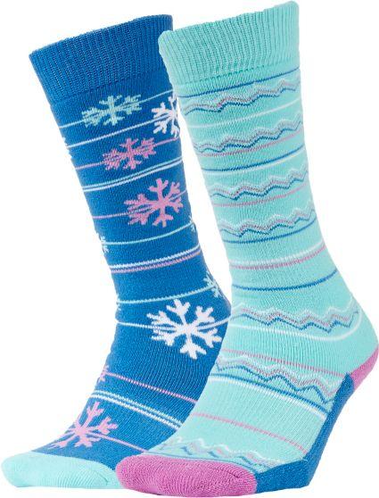 Quest Girl's OTC Ski Socks 2 Pack