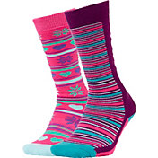 Quest Girl's OTC Ski Socks 2 Pack