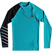 Quiksilver Boys' Active Long Sleeve Rash Guard