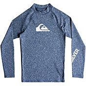 Quiksilver Boys' All Time Long Sleeve Rash Guard