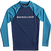 Quiksilver Boys' Always There Long Sleeve Rash Guard