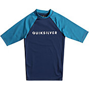 Quiksilver Boys' Always There Short Sleeve Rash Guard