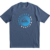 Quiksilver Boys' Razor Short Sleeve Rash Guard