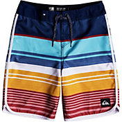 "Quiksilver Boys' Eye Scallop 18"" Board Shorts"