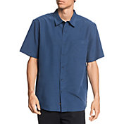 Quiksilver Men's Waterman Centinela 4 Short Sleeve Shirt